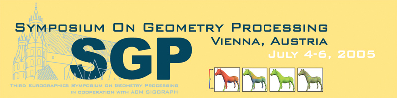 SGP 2005 - Symposium on Geometry Processing