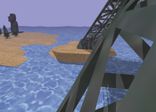 image3: A scene shadowed with Light Space Perspective Shadow Maps.