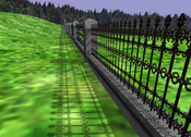 image8: A scene shadowed with Light Space Perspective Shadow Maps.