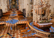 Interior: Interior view of the Vienna Stephansdom, rendered at approximately 12fps on an NVIDIA 6800GTO.