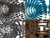 torusinside: Inside view in a torus with different shell maps applied