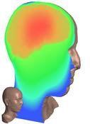 Teaser: Volumetric parametization of a human head volume dataset