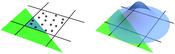 logo: Illustration of sample-based and prefiltered edge anti-aliasing.