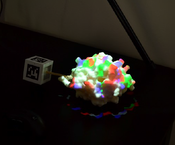 teaser: tangible molecule model