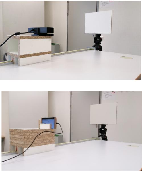 image: Kinect v2 and Phab2Pro noise model evaluation