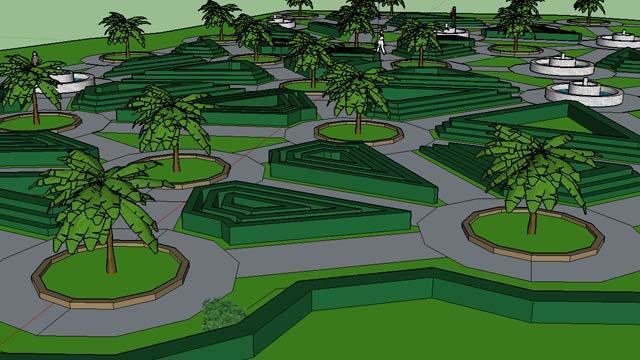 Procedural Modelling of Park Layouts :: Institut für
